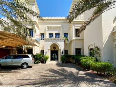 فیلا 6 غرف نوم للايجار في نخلة جميرا، دبي - Genuine Listing   Real Pictures   Furnished