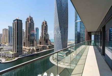 فلیٹ 3 غرف نوم للايجار في دبي مارينا، دبي - Beautiful   Marina View   Stylish 3 Bedrooms