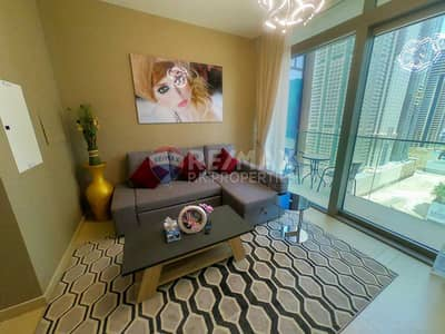 1 Bedroom Apartment for Sale in Dubai Marina, Dubai - high floor fully furnished apartment ready to move