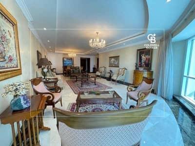 فلیٹ 3 غرف نوم للبيع في دبي مارينا، دبي - 03 Type Partial Palm Sea View Vacant On Tranfer