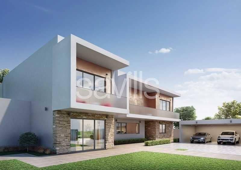 2 Stunning off plan 5 br villas  at Yas Acres with golf view