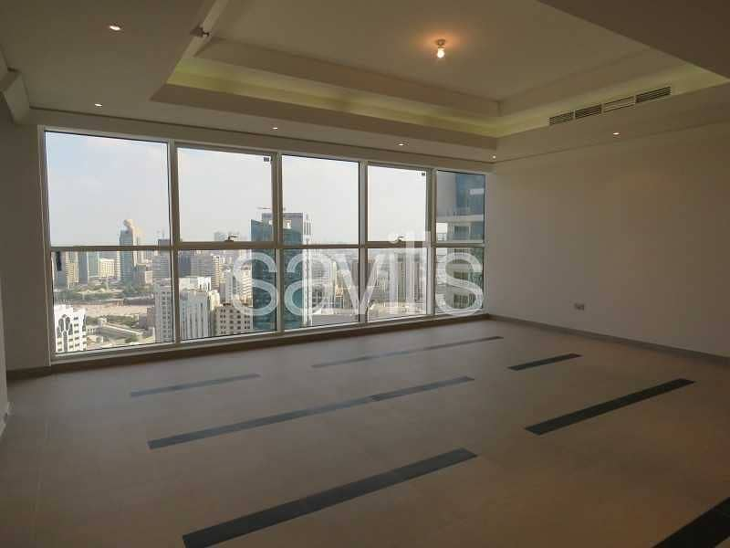 2 Four bedrooms apartment with maids room