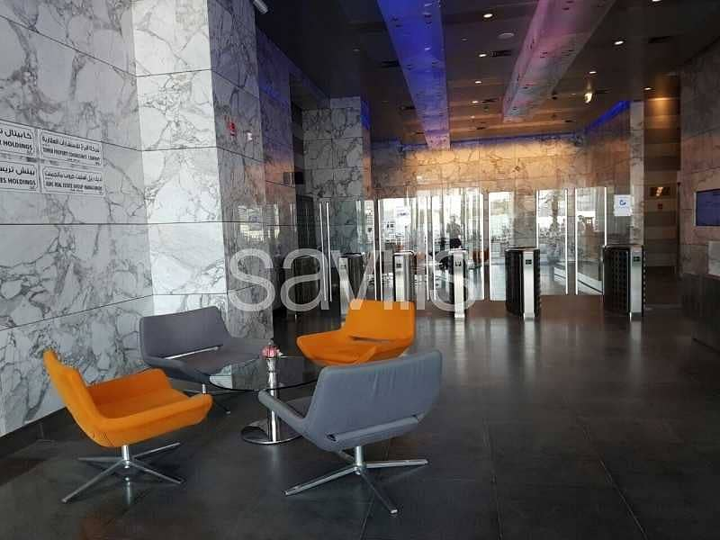 Modern Office grade A in Capital Center Exhibition Area of Abu Dhabi