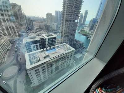 فلیٹ 1 غرفة نوم للايجار في دبي مارينا، دبي - Chiller Free l Marina View l Fully Furnished