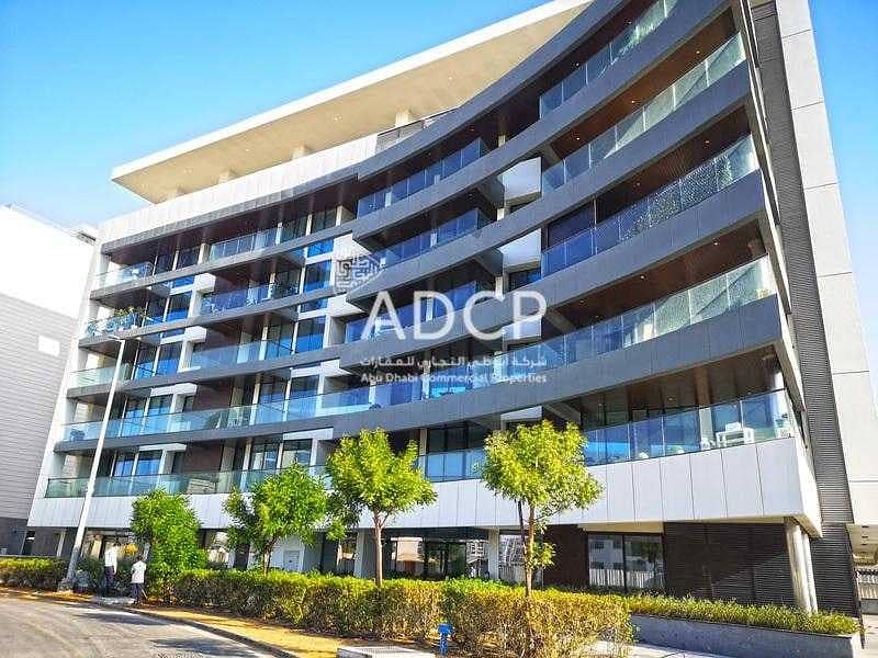 Showroom space in Al Raha Beach | Prime Location | Fitted Out
