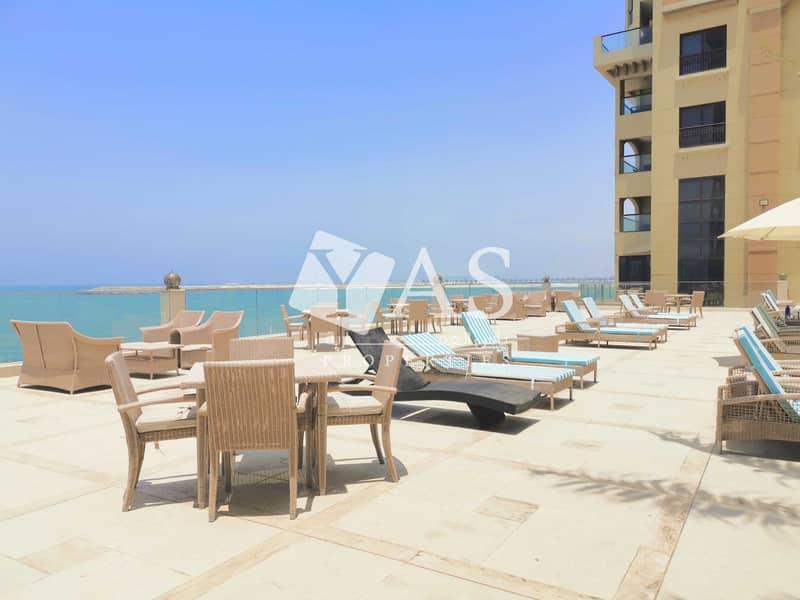 2 Beach facing | 3 Br Furnished | Resort & Spa