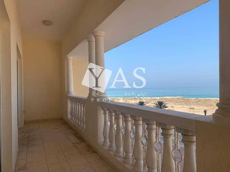 Elegant | Sea View Apartment | Huge Balcony