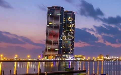 1 Bedroom Apartment for Sale in Dafan Al Nakheel, Ras Al Khaimah - Amazing 1 Bedr Apartment for Sale in Julphar Tower - Ras Al Khaimah