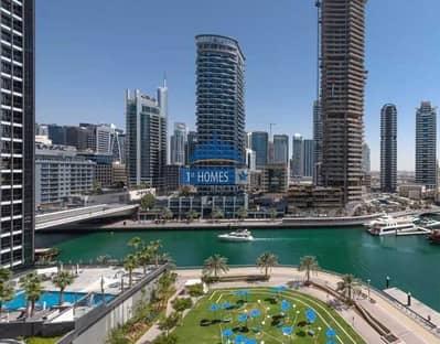 3 Bedroom Apartment for Rent in Dubai Marina, Dubai - Large L-Shape Living Area | Three Bedroom+Maidsroom in La Residencia Del Mar