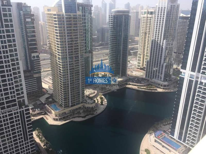 Large One Bedroom with lake view  High Floor in Dubai Star- JLT