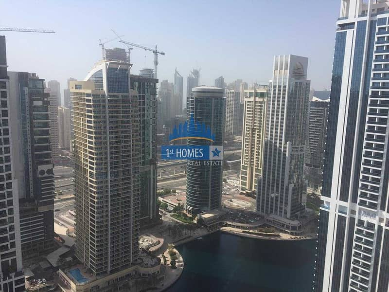 15 Large One Bedroom with lake view  High Floor in Dubai Star- JLT