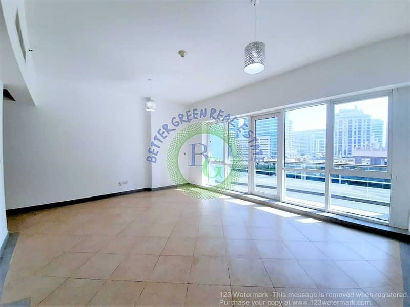 2 Chiller FREE Studio with KITCHEN EQUIPPED and HUGE balcony front of metro