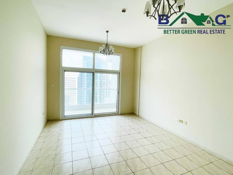 2 Huge 1 Bedroom with Balcony High floor Vacant Near Metro