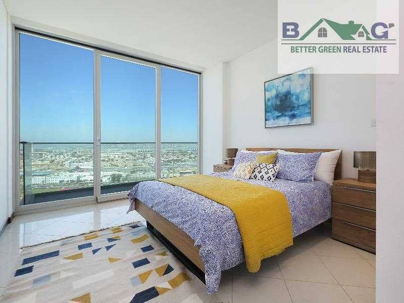 شقة في مرسى بلازا دبي فيستيفال سيتي 2 غرف 112000 درهم - 5208694