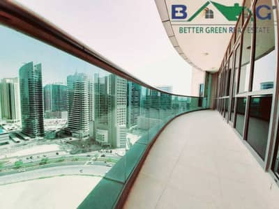 شقة 2 غرفة نوم للايجار في برشا هايتس (تيكوم)، دبي - Chiller Free Sea View 2 BR with Balcony High Floor Vacant