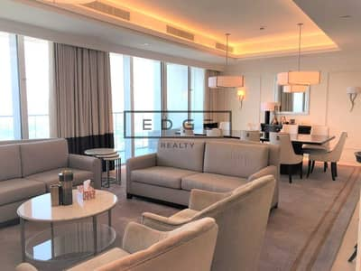 4 Bedroom Hotel Apartment for Rent in Downtown Dubai, Dubai - SPACIOUS 4BEDS+MAIDS   DIFC VIEW   VACANT