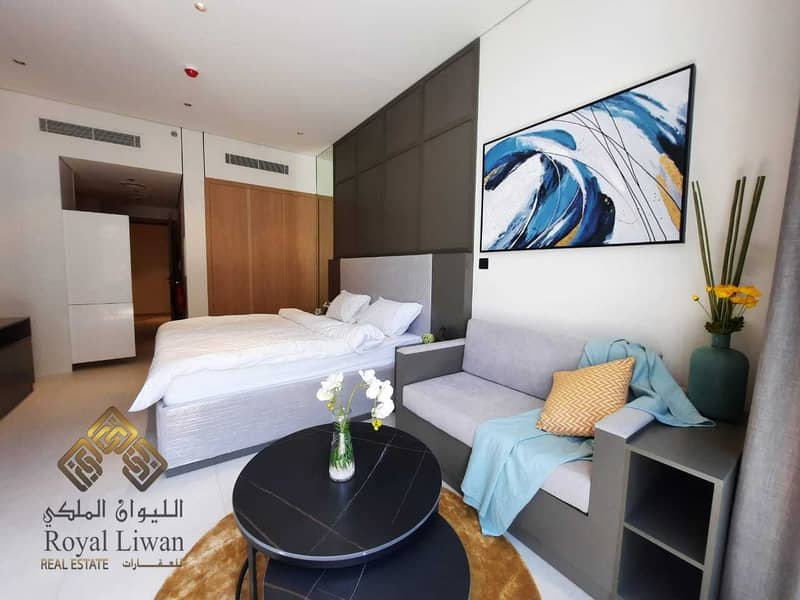 2 Brand New Spacious and Bright Fully Furnished Studio for Rent