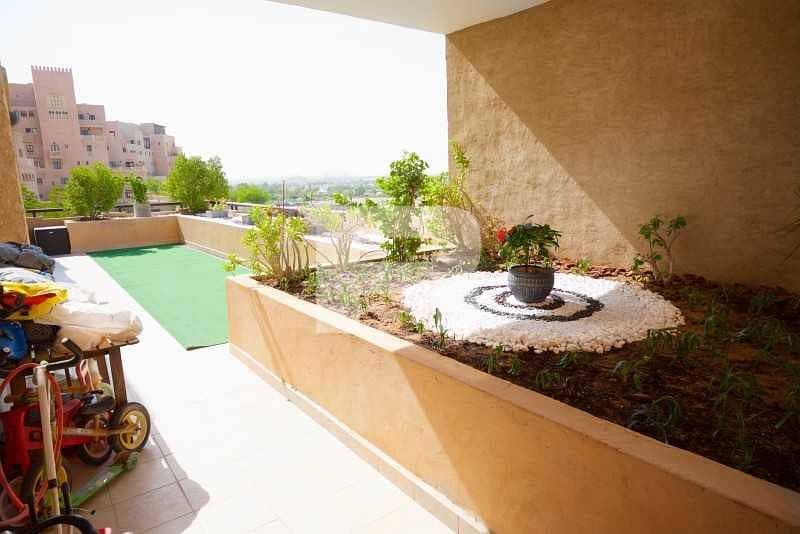 12 3BR w/ Maid Room| Huge Terrace + Balcony