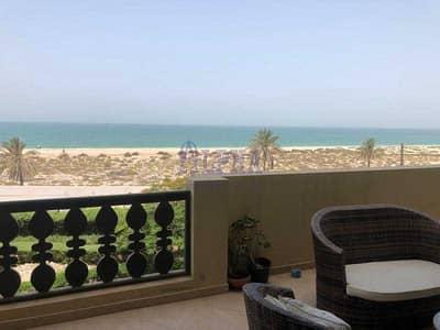 1 Bedroom Apartment for Rent in Al Hamra Village, Ras Al Khaimah - Furnished one bedroom - full sea view - big balcony