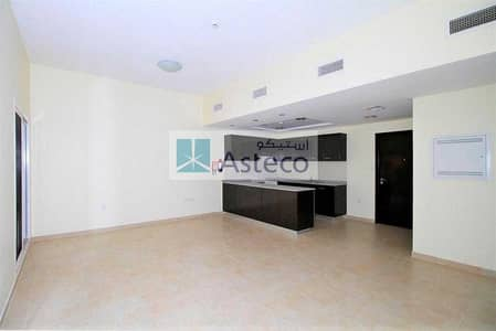2 Bedroom Apartment for Sale in Remraam, Dubai - Open kitchen | Double Balcony | Pool View