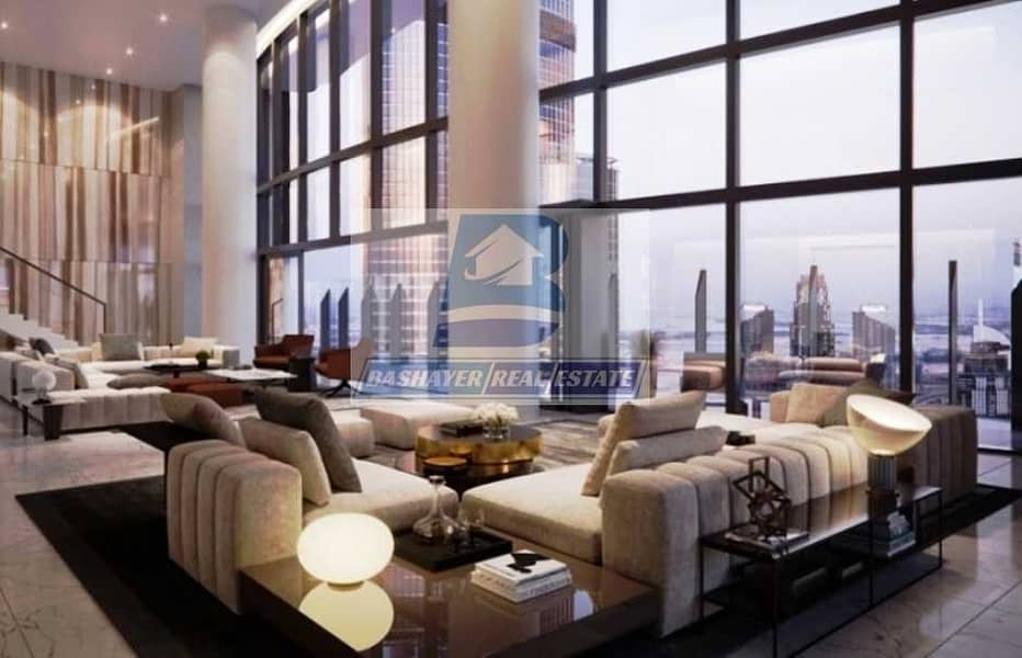 Superb and Luxury Penthouse with Fountain View with 5 Years Payment & Free Registration
