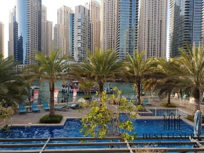 فلیٹ 1 غرفة نوم للايجار في دبي مارينا، دبي - Upgraded|Well maintained|Bright Apartment