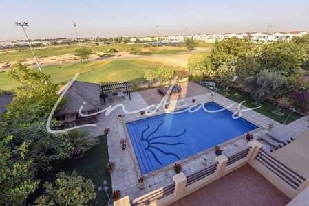 6 Bedroom Villa for Sale in Arabian Ranches, Dubai - Golf Course View   L1 Type  Private Pool  