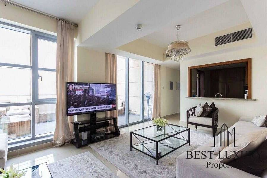 2 Burj view penthouse with study room