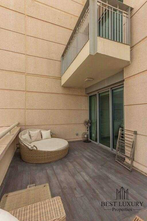10 Burj view penthouse with study room