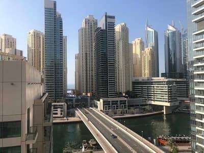 فلیٹ 3 غرف نوم للايجار في دبي مارينا، دبي - Fully Upgraded|Luxury 3BR+Study|Chiller Free