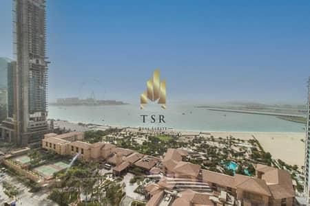 شقة 4 غرف نوم للبيع في جميرا بيتش ريزيدنس، دبي - Sea View | Spacious | Well Maintained