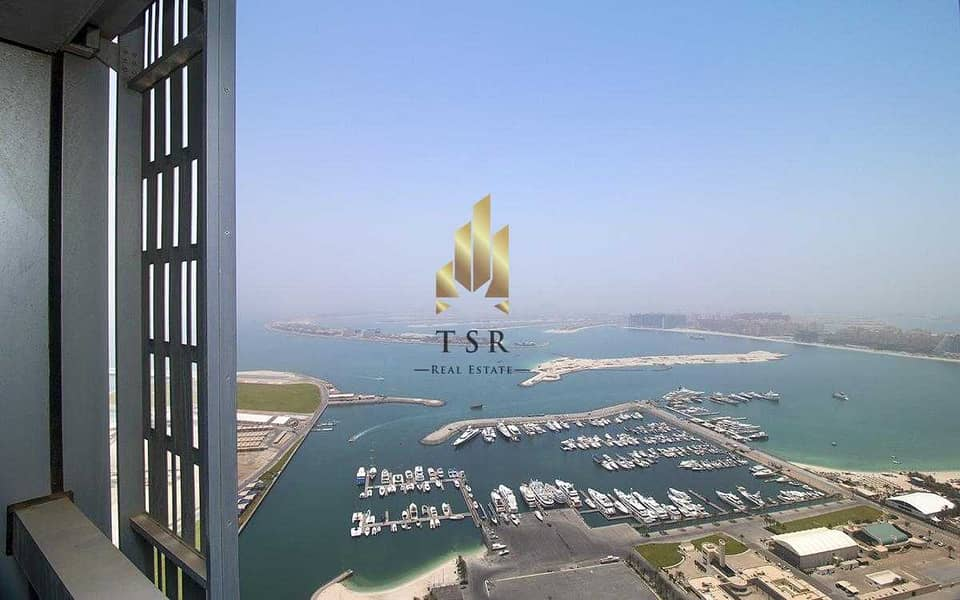 17 Full Sea View | 3 BR+S | in Cayan Tower
