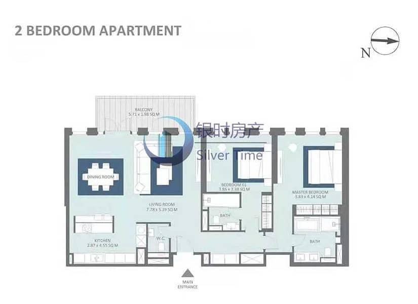 11 Sea View   Investor Deal   Luxury 2BR   Bluewaters