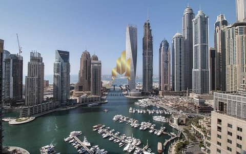 بنتهاوس 5 غرف نوم للبيع في دبي مارينا، دبي - Full Marina View | 5BR Penthouse | EMAAR