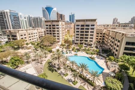 فلیٹ 3 غرف نوم للايجار في الروضة، دبي - Spacious | Pool View | Well Maintained 3BR