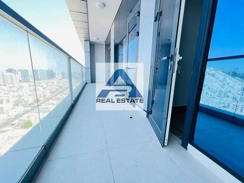 Modern ! Balcony Two Bhk with Facilities Parking !