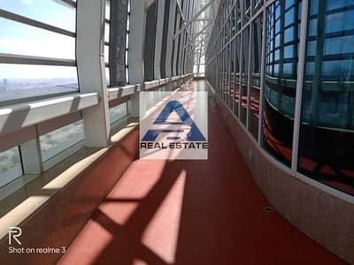 فلیٹ 2 غرفة نوم للايجار في المركزية، أبوظبي - No Fee! 6 Chq ! 2 bhk Maids RM Balcony facilities