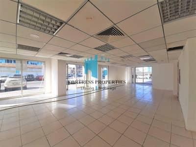 Showroom for Rent in Airport Street, Abu Dhabi - CORNER SHOWROOM | GREAT LOCATION - FACING MAIN ROAD | 4
