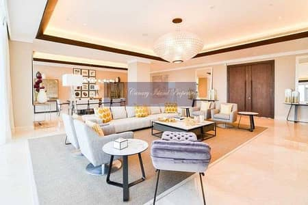5 Bedroom Penthouse for Sale in Jumeirah Lake Towers (JLT), Dubai - Fully Furnished Penthouse ! Marina Skyline ! Golf View