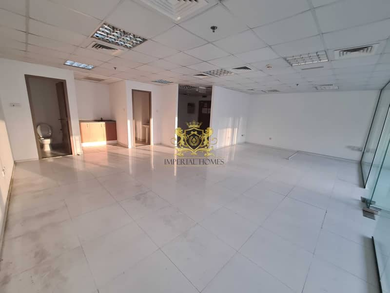 11 Fitted Office 2 Glass Room + Hall + Reception in HDS Tower