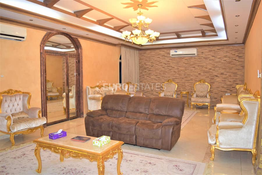 2 Fully Frunished 4BR+Maid Room & Modified Interiors