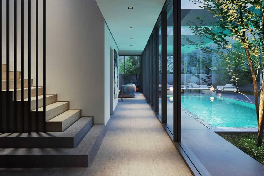 تملك فيلا 5 غرف مستقلة مع مسبح خاص وبمساحة شاسعة /  بمشروع مسار بالشارقة وبمقدم 10 % فقط