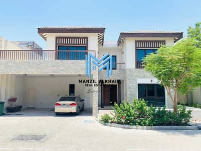 5 Bedroom Villa for Rent in Al Reem Island, Abu Dhabi - Best View   Private Beach Access   Vacant Now!