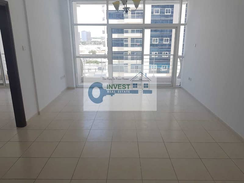 2 NICE 1 BEDROOM APARTMENT WITH POOL VIEW : 2 BALCONIES : READY TO MOVE : ONLY 28K IN 4 CHEQUES