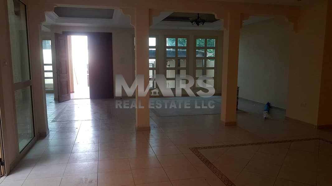 Excellent  5 Master Bedroom Corner Villa with Maid Room. Great finishing with all Amenities in Al Nahyan.