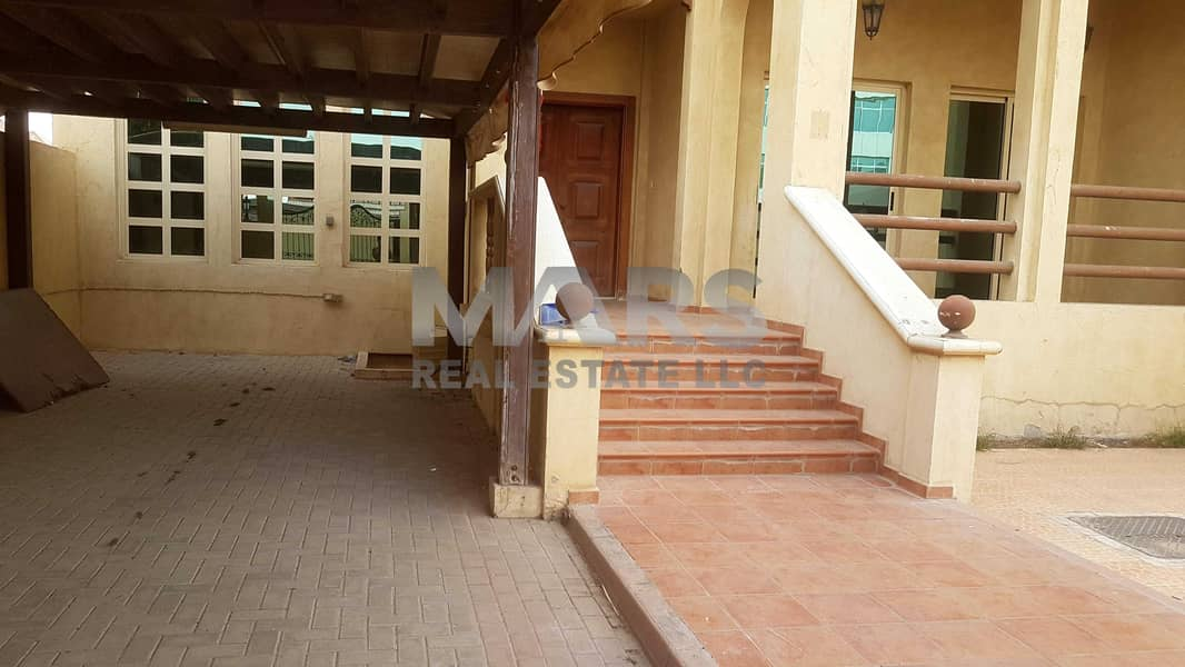 29 Excellent  5 Master Bedroom Corner Villa with Maid Room. Great finishing with all Amenities in Al Nahyan.