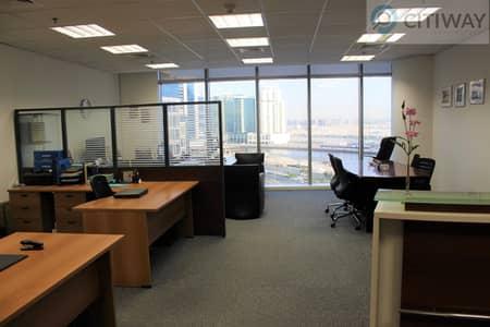 مکتب  للبيع في الخليج التجاري، دبي - Metropolis Furnished Office