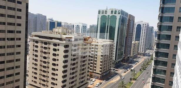 3 Bedroom Apartment for Rent in Hamdan Street, Abu Dhabi - Big Balcony Lovely 3BR Apt Corner Hamdan&Salam