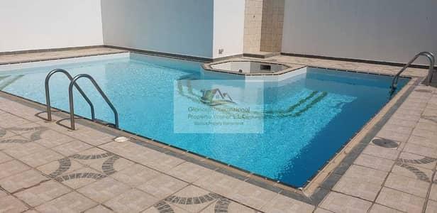 فلیٹ 3 غرف نوم للايجار في الخالدية، أبوظبي - Spacious w/ Facilities and Maid's Room
