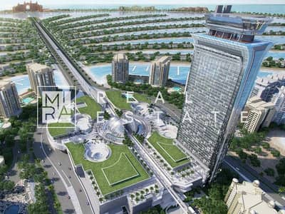 Studio for Sale in Palm Jumeirah, Dubai - Overlooking Palm Jumeirah View | Exclusive 1 Luxurious Bedroom | At Heart Of The Palm